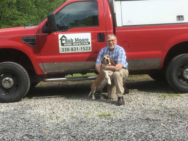 Bob Moore and Dog